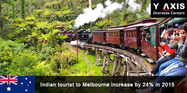 Indian tourist to Melbourne increase