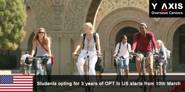US to extend 3 years post study on the OPT