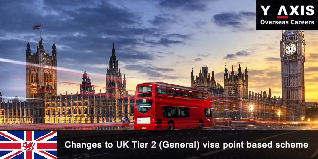Changes to UK Tier 2 (General) visa