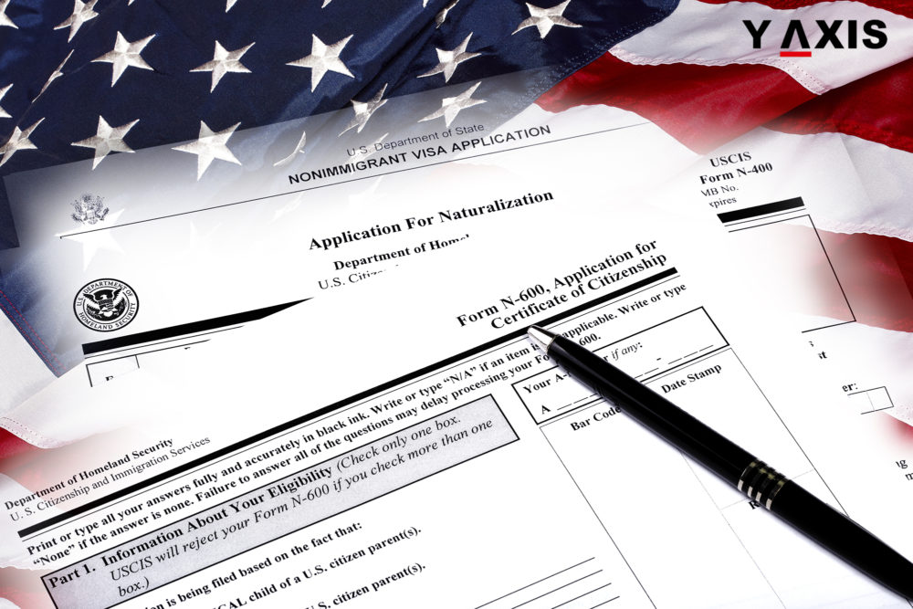Applications for immigration naturalization have gone up