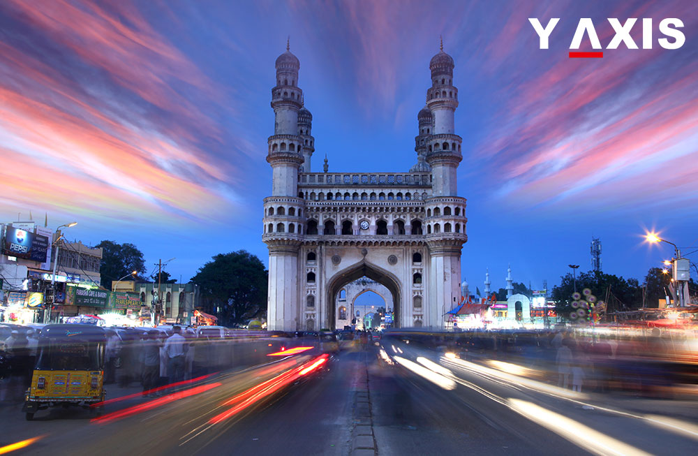 Hyderabad grants the largest number of student visas