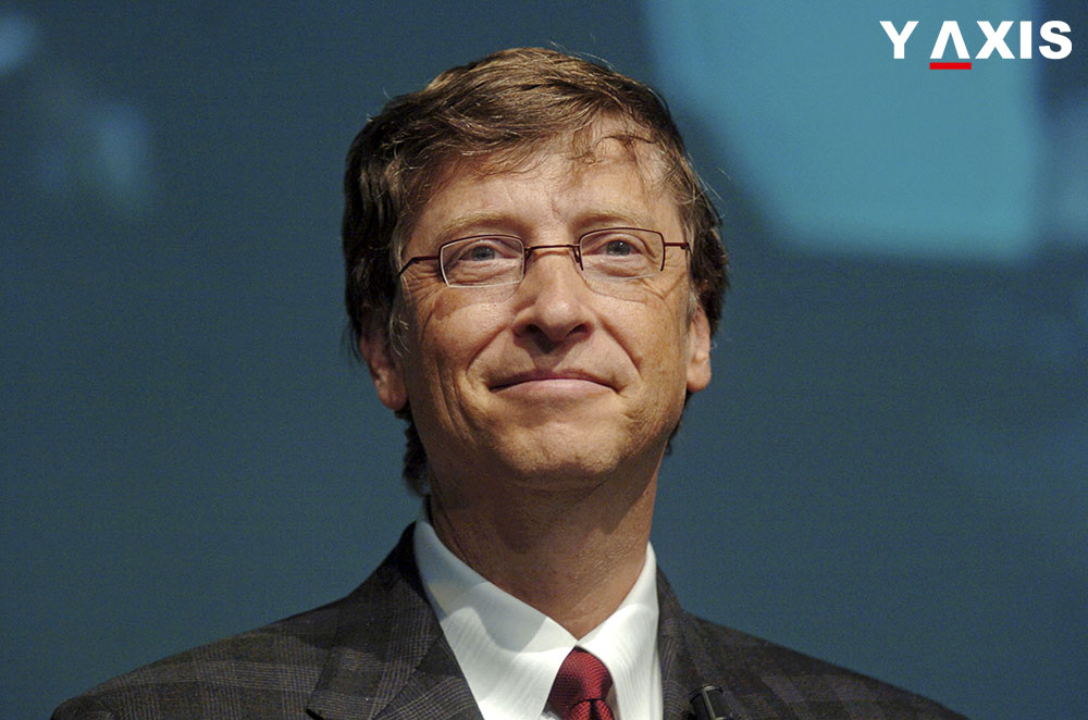 Bill Gates lauds Canda's step to welcome immigrants and refugees of Syria