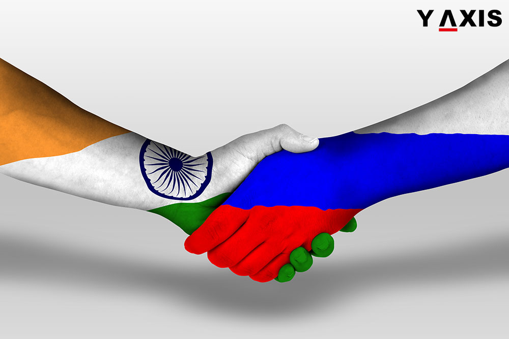 India and Russia to announce mutual facilitation of the process for tourists