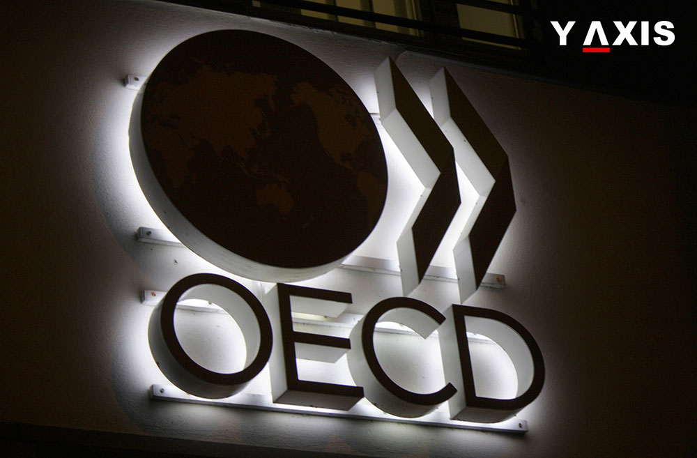 4.8 million people migrated to OECD member countries
