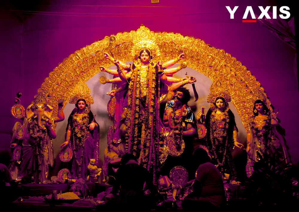 Number of Bangladeshi visa seekers from India increase due to Durga Puja