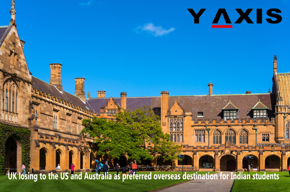 US and Australia preferred overseas destination for Indian students