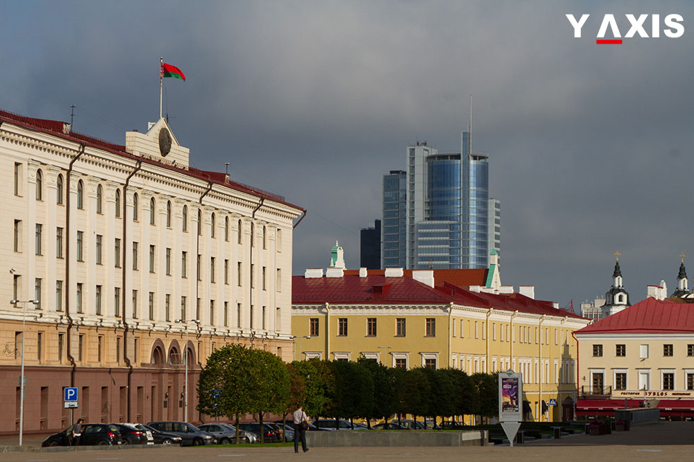 Belarus introduced visa-free for foreign nationals to enter and depart