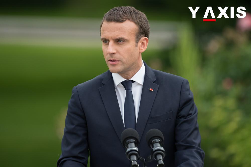 French President Emmanuel