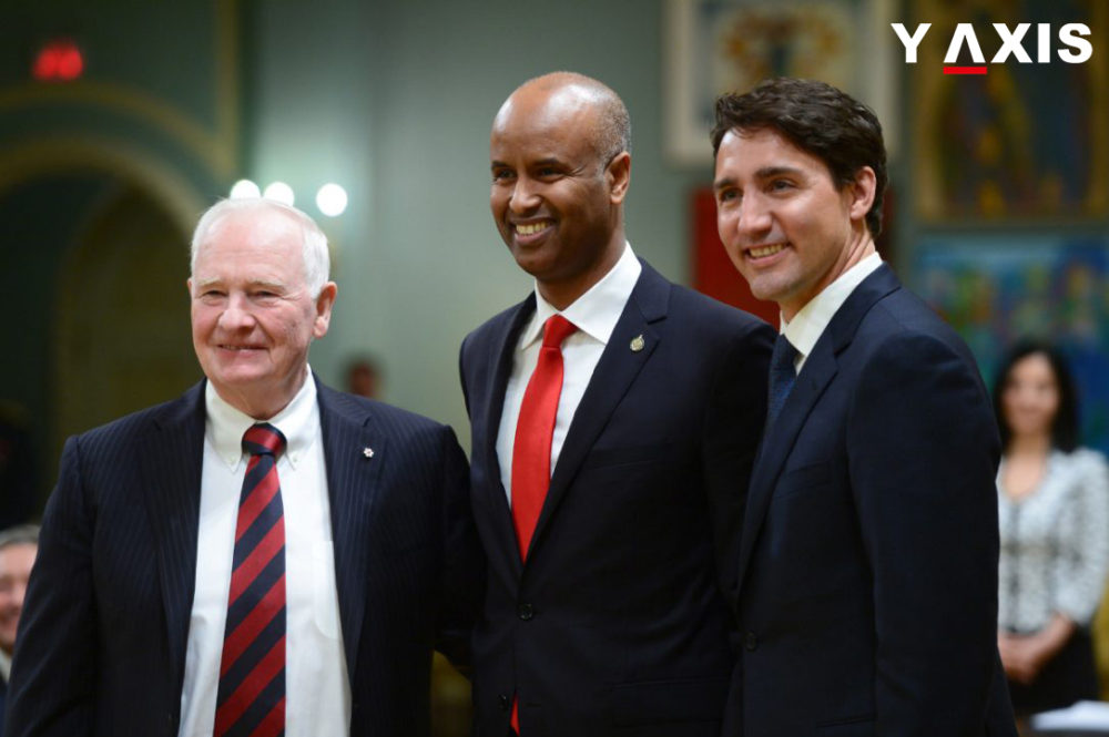 Political leaders of Canada