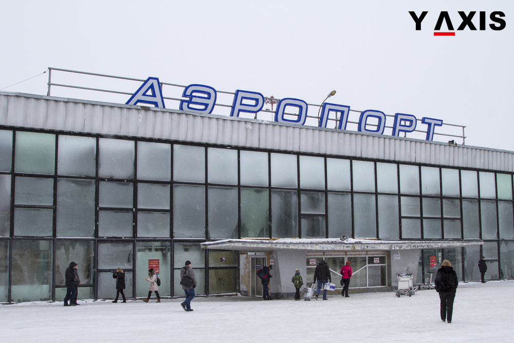 Far East airports in Russia