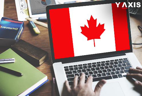 Online searches for H-1B Canada