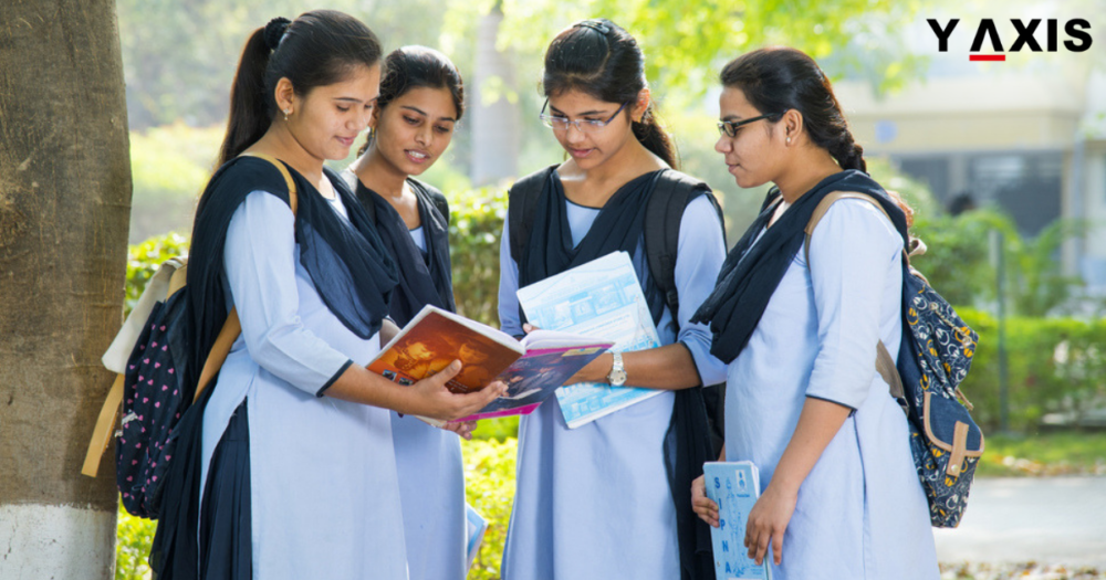 Indian girl students