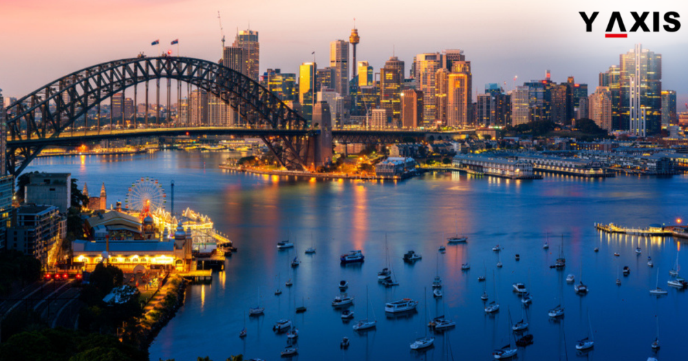 What is the current status of 9 regions under NSW Australia 489 Visa?