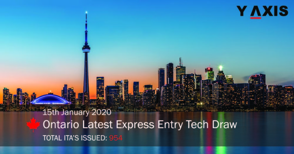 Ontario Express Entry Tech Draw