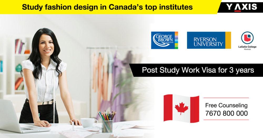 Study Fashion Design in Canada