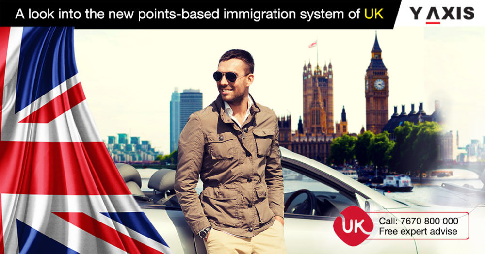 A look into the new points based immigration system of UK