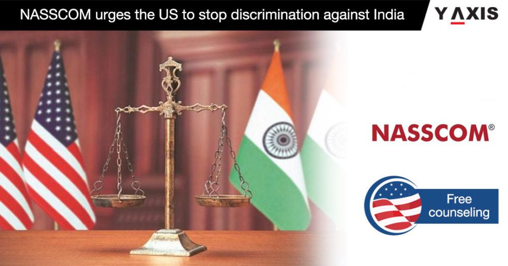 NASSCOM urges US to stop discrimination