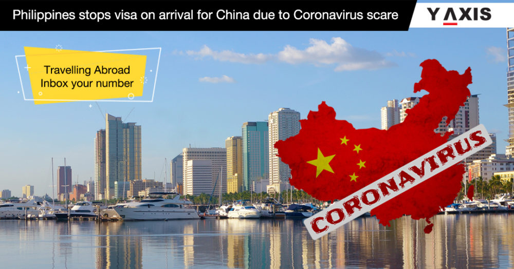 Phillipines stops visa on arrival for China due to Coronavirus scare