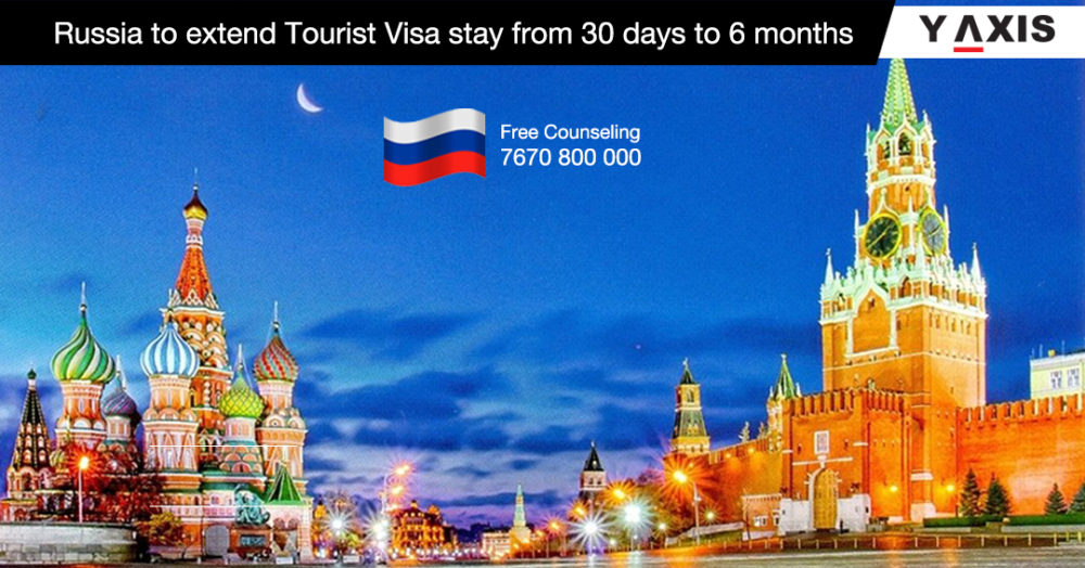 Russia to extend Tourist Visa stay