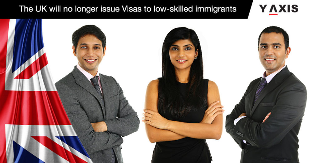 The UK will no longer issue Visas to low-skilled immigrants