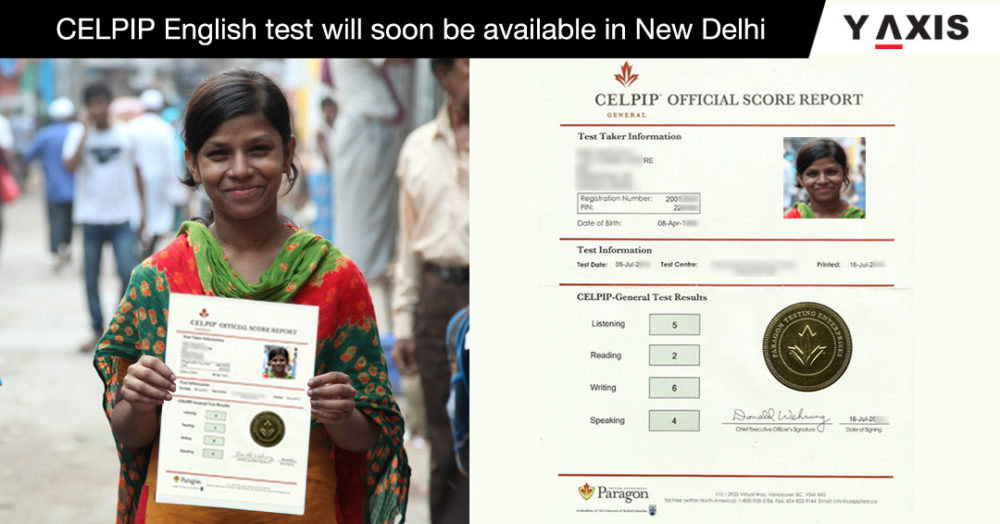 CELPIP English test will soon be available in New Delhi