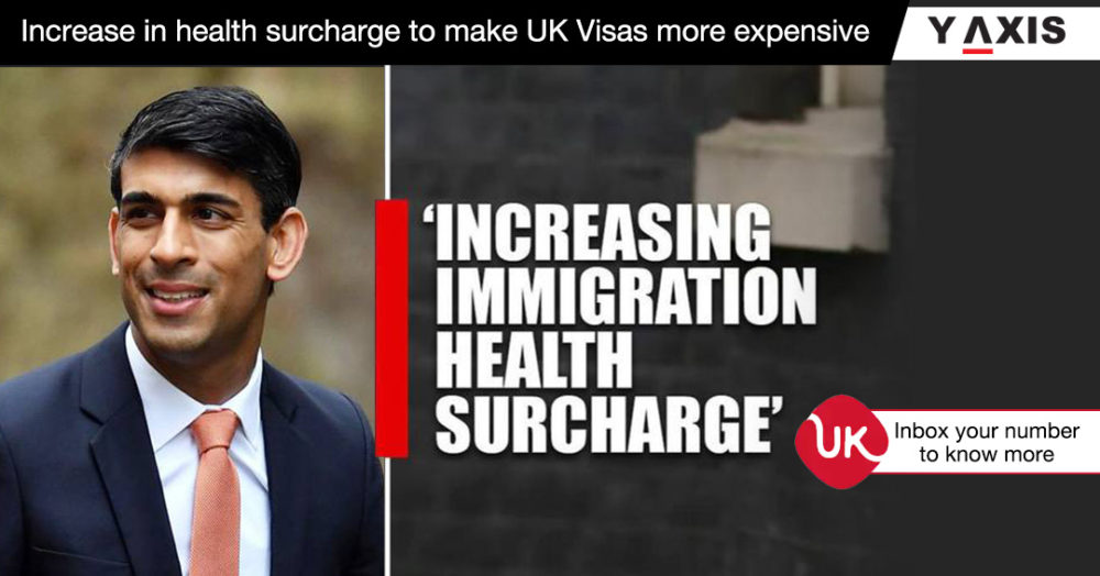 Increase in health surcharge to make UK Visas more expensive