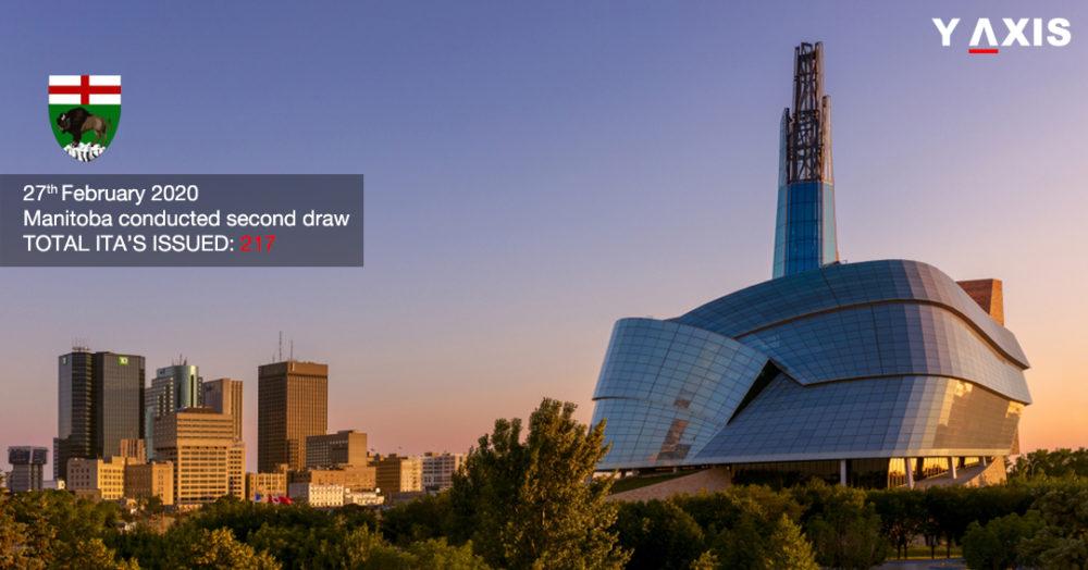 Manitoba invites 217 in the latest draw