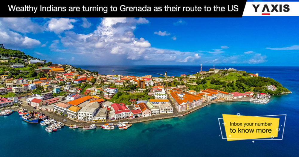 Rich Indians are turning to Grenada as their route to the US