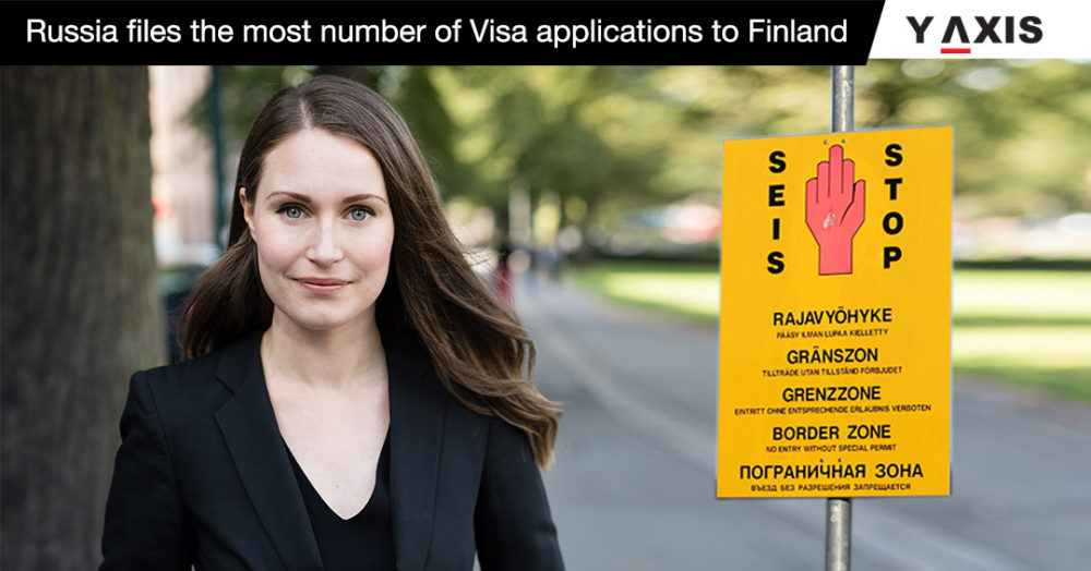 Russia files the most number of visa applications to Finland