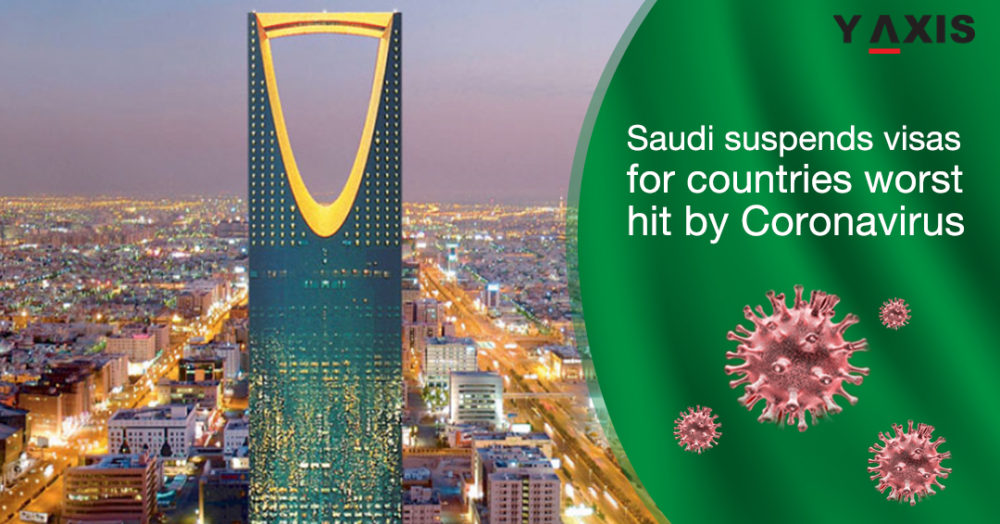 Saudi suspends visas for countries worst hit by Coronavirus