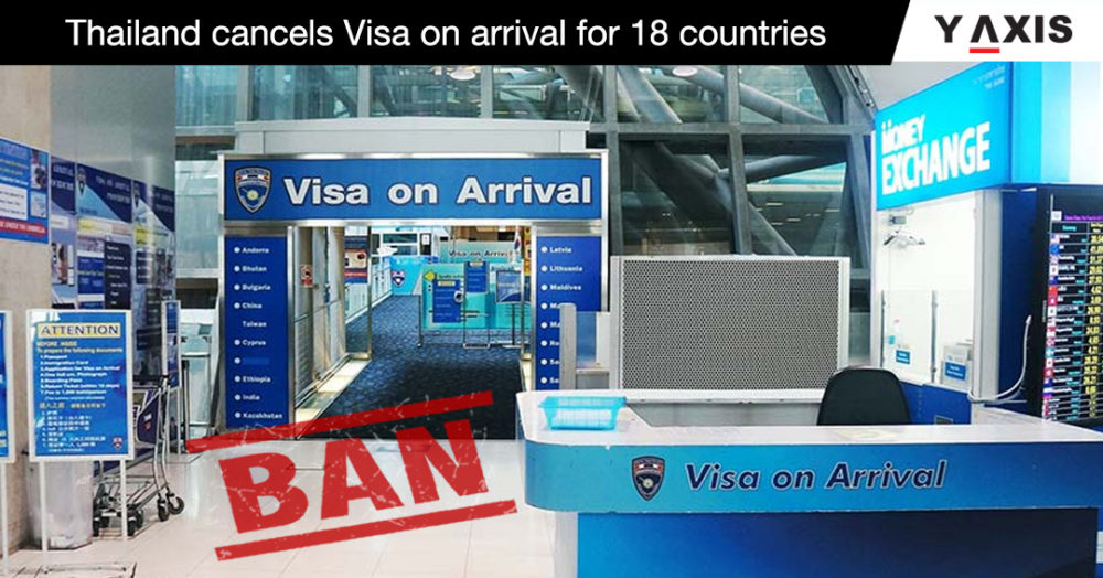 Thailand cancels visa on arrival for 18 countries