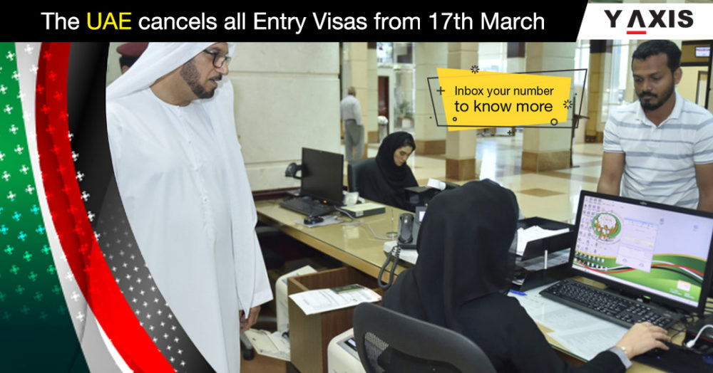 The UAE cancels all entry Visas from 17th March
