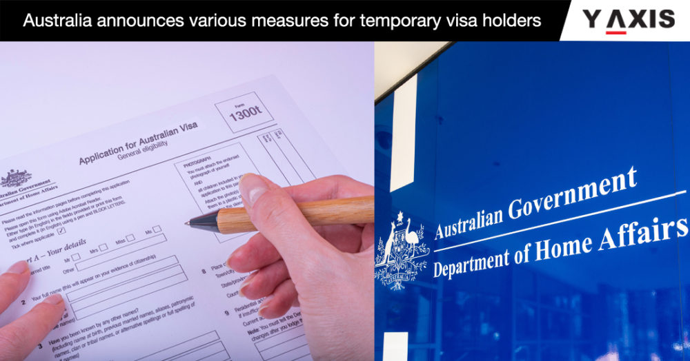 Australia announces various measures for temporary visa holders