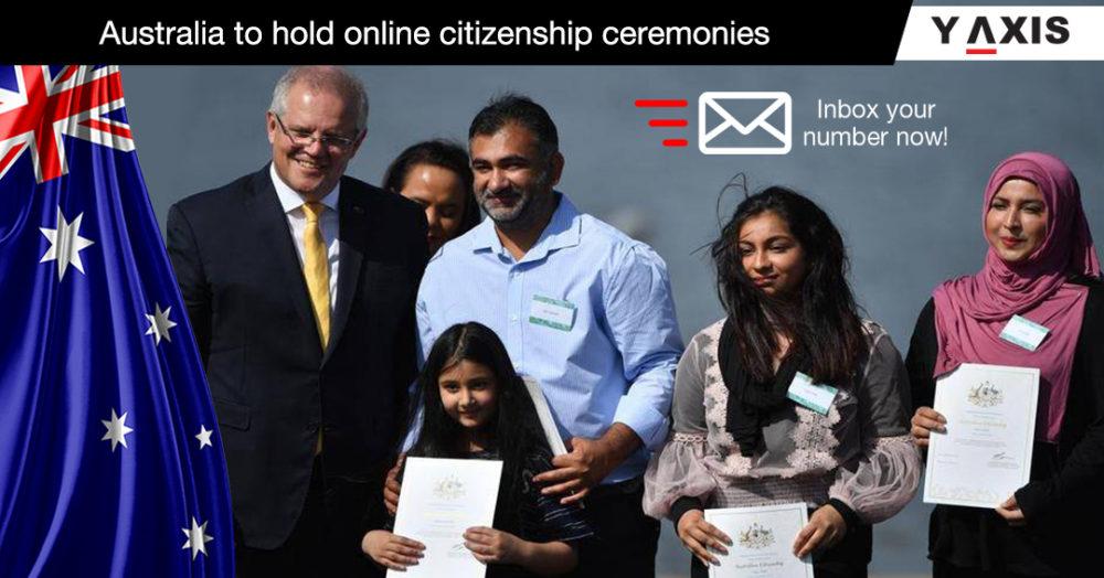 Australia to hold online citizenship ceremonies