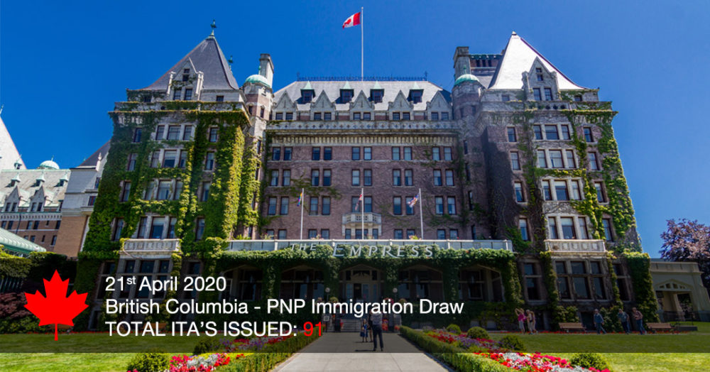 British Columbia in Canada invites 91 in latest Tech Pilot draw