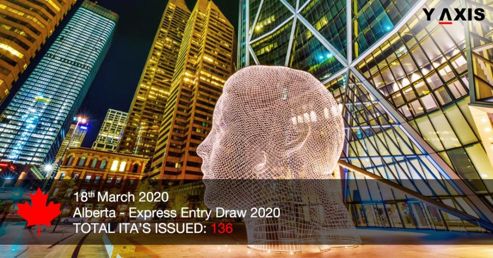 Latest Alberta draw invites 136