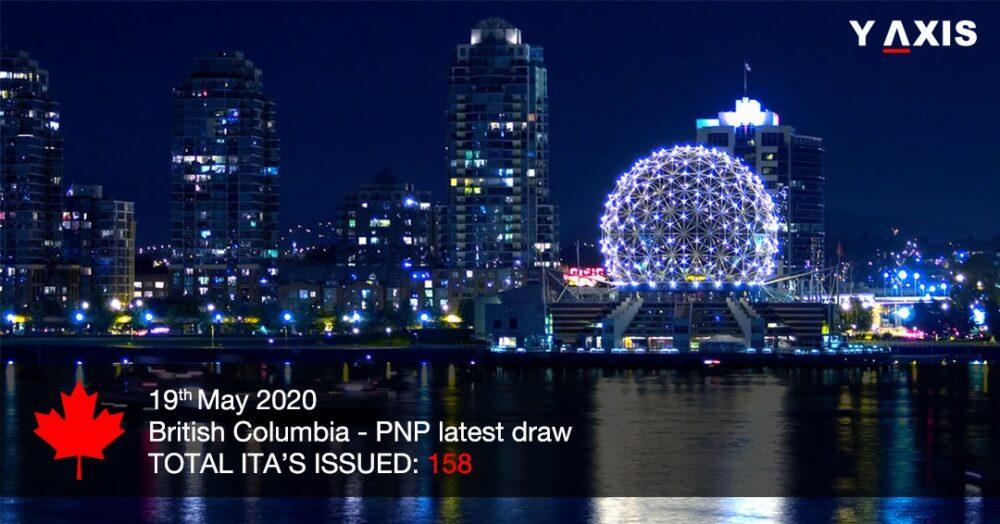 British Columbia invites 158 to apply for Canada PR
