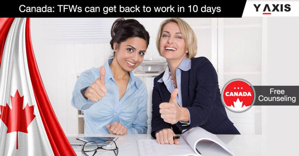 Canada TFWs can get back to work in 10 days