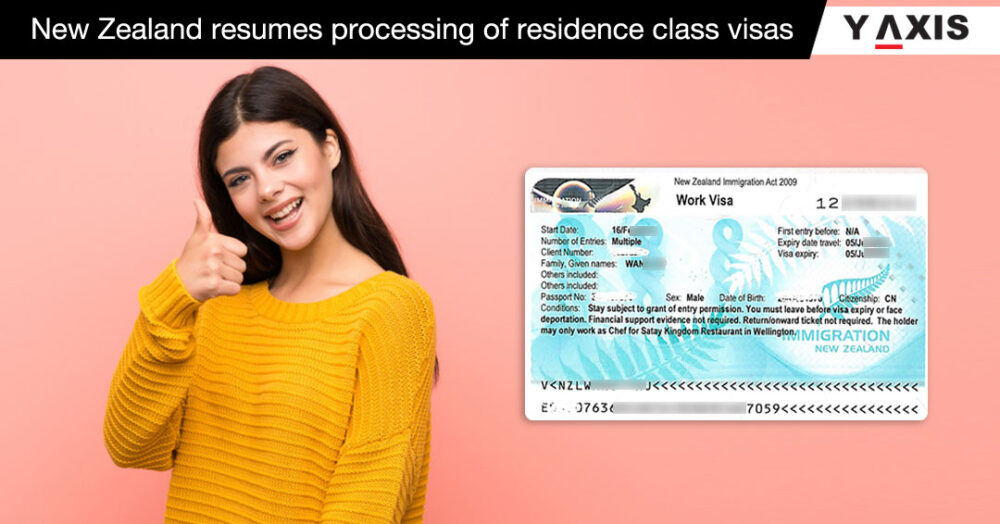 New Zealand resumes processing of residence class visas