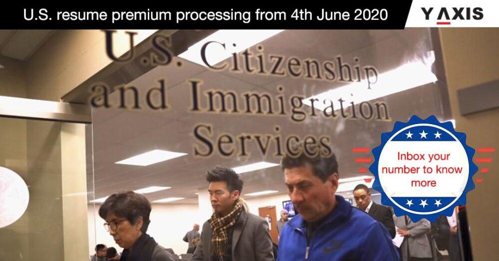 US resumes premium processing of certain petitions