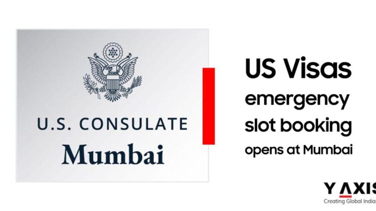 Us Visa Emergency Appointments Slots Can Be Booked At Mumbai Embassy