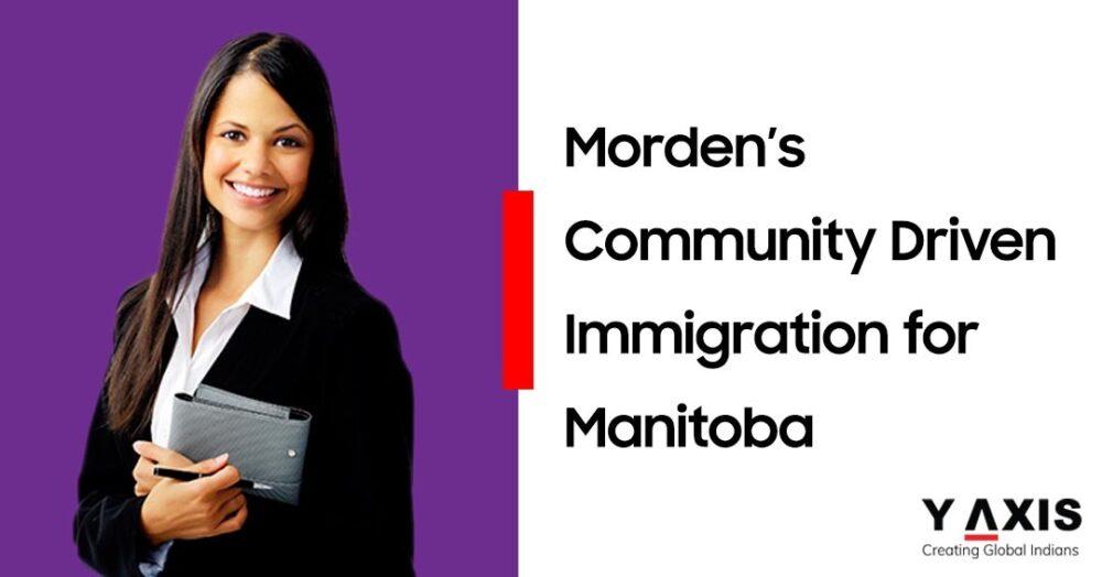 Morden's Community Driven Immigration for Manitoba
