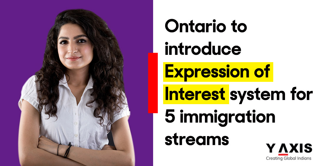 Ontario to introduce Expression of Interest system for 5 immigration streams