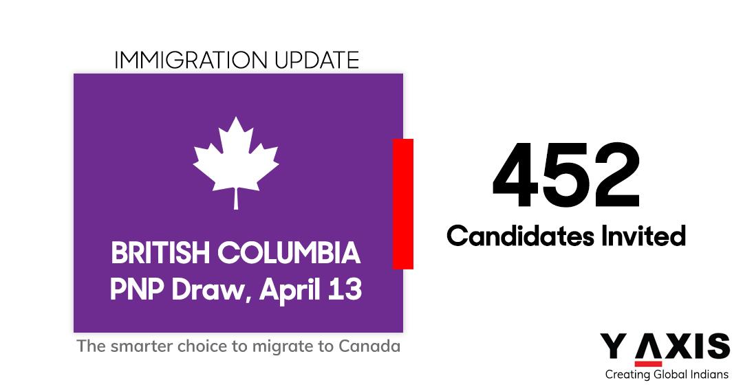 British Columbia April 13