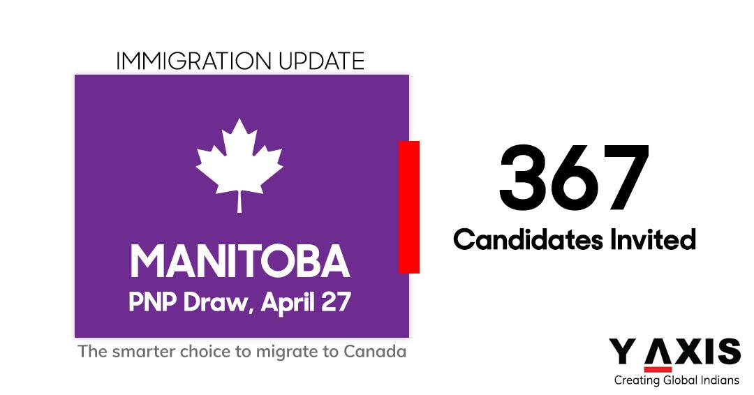 Manitoba PNP Draw Apr 27