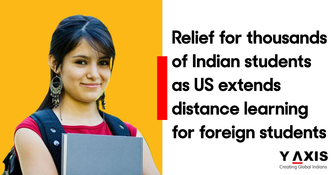Relief for thousands of Indian students as US extends distance learning for foreign students