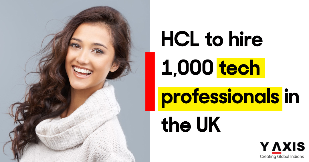 HCL to hire 1,000 tech professionals in the UK