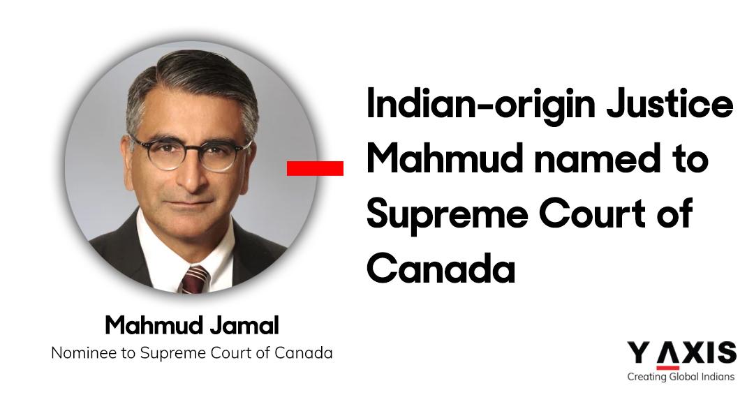 Indian-origin Justice Mahmud Jamal nominated to Supreme Court of Canada