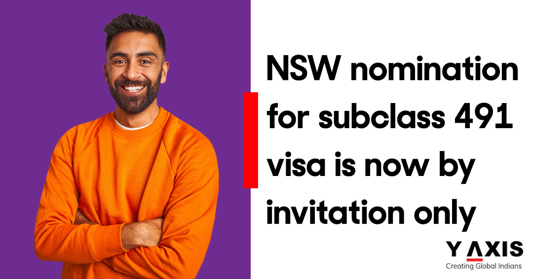 NSW nomination for subclass 491 visa is now by invitation only