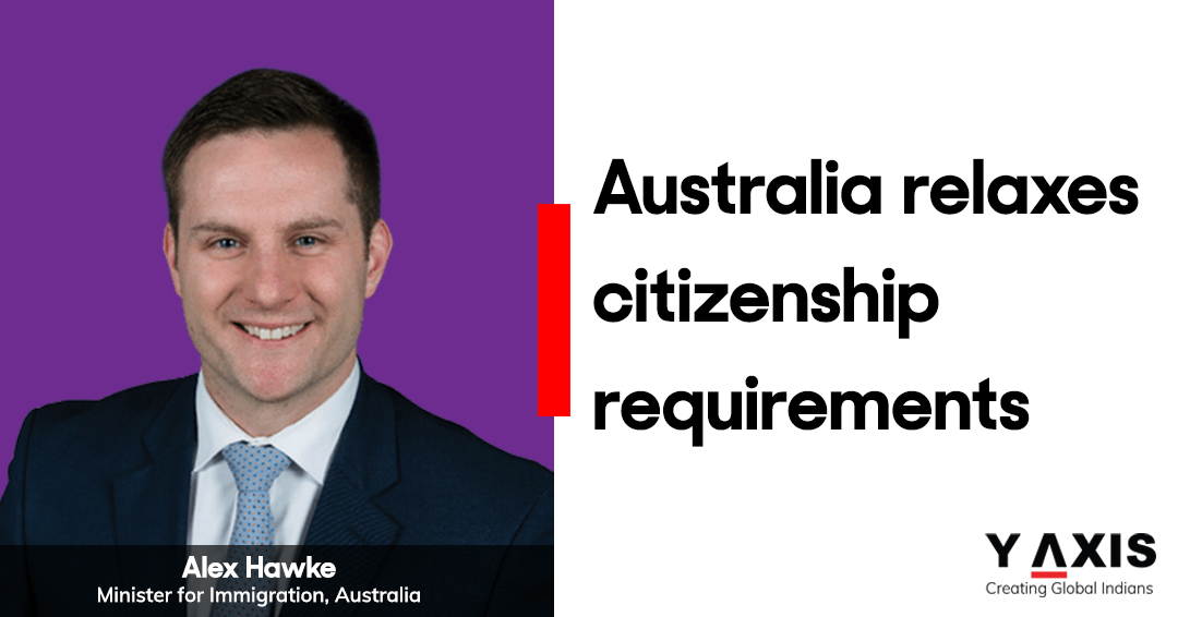 Australia relaxes citizenship requirements